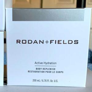 Rodan and Fields body moisturizer.